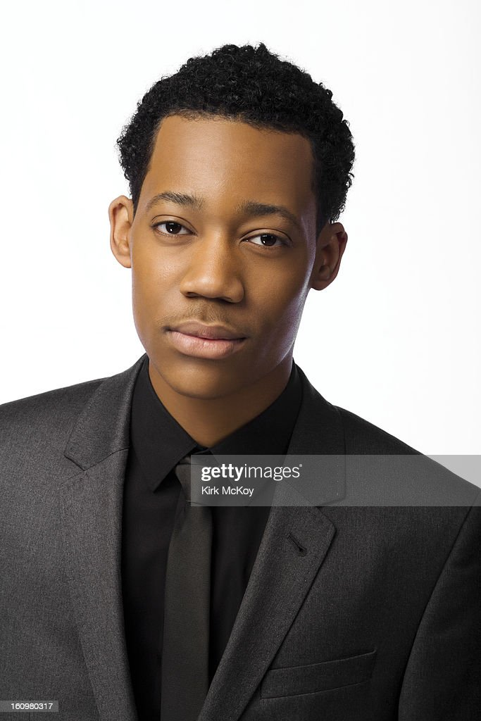 Actor Tyler James Williams is photographed at the NAACP Image Awards for Los Angeles Times on February 1, 2013 in Los Angeles, California. PUBLISHED IMAGE.