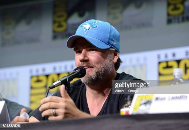Actor Tyler Labine at Dirk Gently's Holistic Detective Agency BBC America Official Panel during ComicCon International 2017 at San Diego Convention...