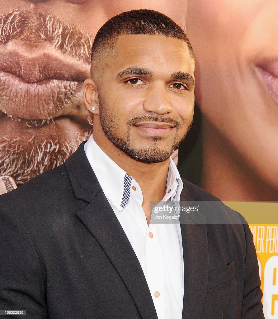 Actor Tyler Lepley arrives at the Los Angeles Premiere 'Peeples' at ArcLight Hollywood on May 8, 2013 in Hollywood, California.