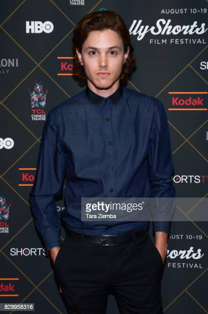 Actor Tyler Matthew Young attends the 2017 HollyShorts Film Festival Opening Night Gala at TCL Chinese 6 Theatres on August 10 2017 in Hollywood...