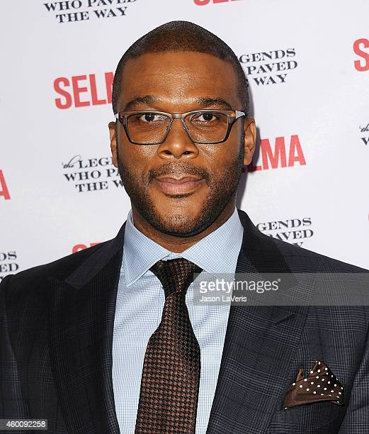 Actor Tyler Perry attends the 'Selma' and the Legends Who Paved the Way gala at Bacara Resort on December 6 2014 in Goleta California