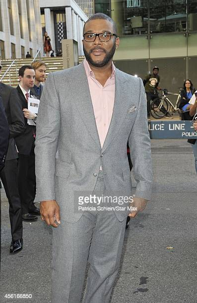 Actor Tyler Perry is seen on September 26 2014 in New York City