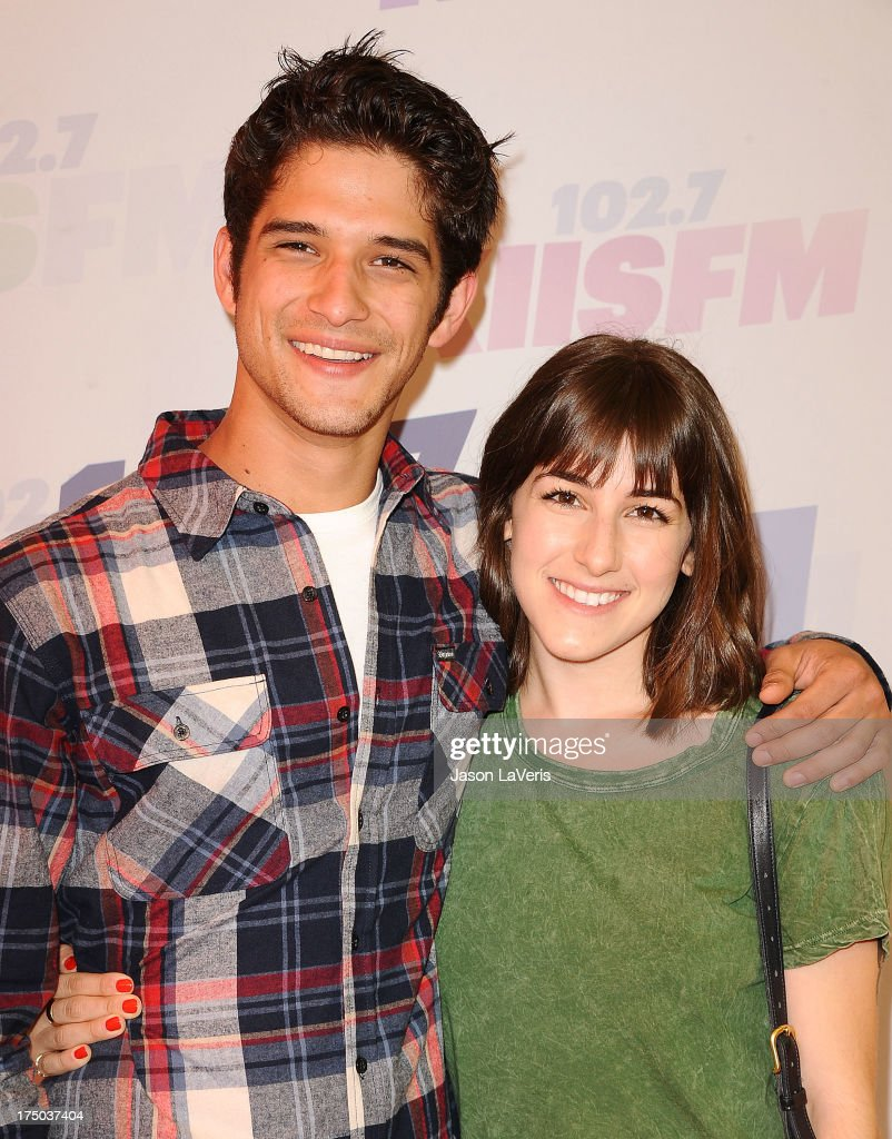 Actor <a gi-track='captionPersonalityLinkClicked' href=/galleries/search?phrase=Tyler+Posey&family=editorial&specificpeople=3201481 ng-click='$event.stopPropagation()'>Tyler Posey</a> and Seana Gorlick attend 102.7 KIIS FM's Wango Tango at The Home Depot Center on May 11, 2013 in Carson, California.