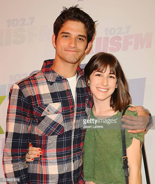 Actor Tyler Posey and Seana Gorlick attend 1027 KIIS FM's Wango Tango at The Home Depot Center on May 11 2013 in Carson California