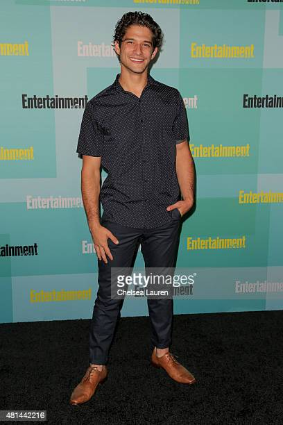 Actor Tyler Posey arrives at the Entertainment Weekly celebration at Float at Hard Rock Hotel San Diego on July 11 2015 in San Diego California