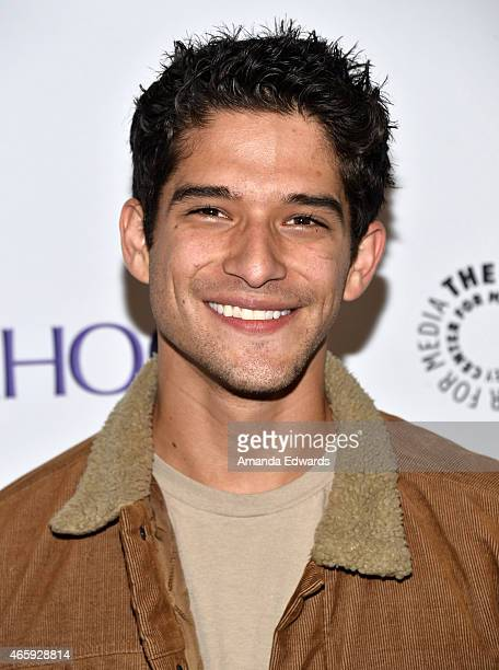 Actor Tyler Posey arrives at The Paley Center For Media's 32nd Annual PALEYFEST LA 'Teen Wolf' event at the Dolby Theatre on March 11 2015 in...