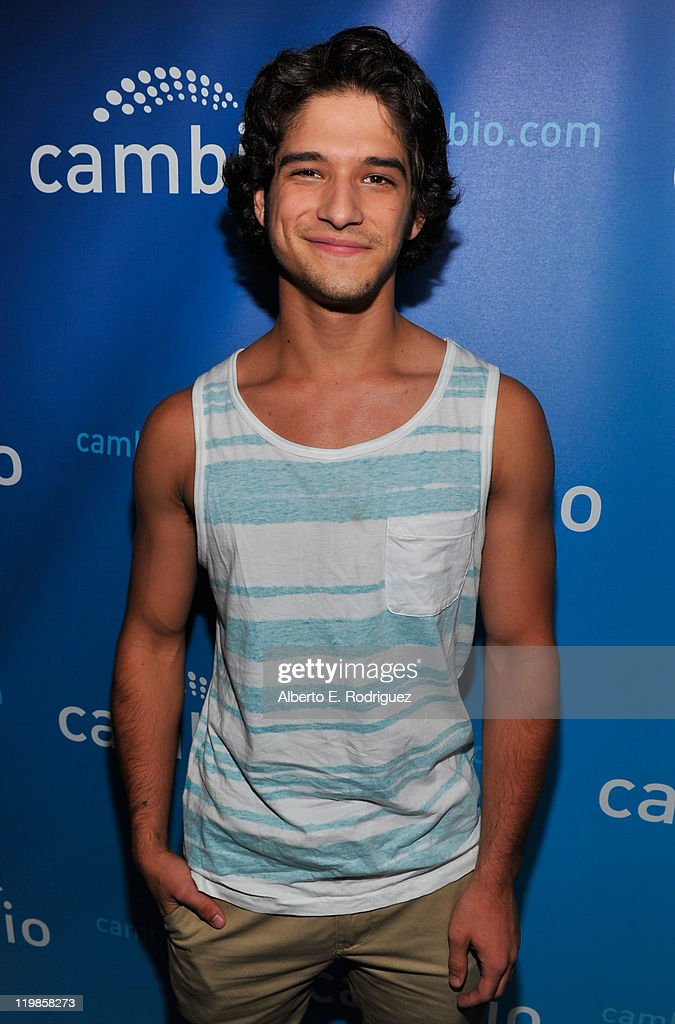 Actor Tyler Posey attends a live chat at Cambio Studios on July 25 2011 in Hollywood California