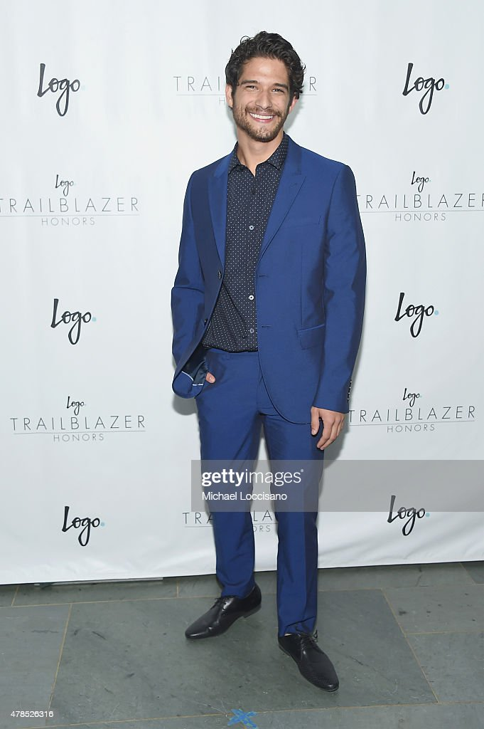 Actor Tyler Posey attends Logo's 'Trailblazer Honors' 2015 at the Cathedral of St John the Divine on June 25 2015 in New York City