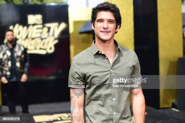 Actor Tyler Posey attends the 2017 MTV Movie And TV Awards at The Shrine Auditorium on May 7 2017 in Los Angeles California