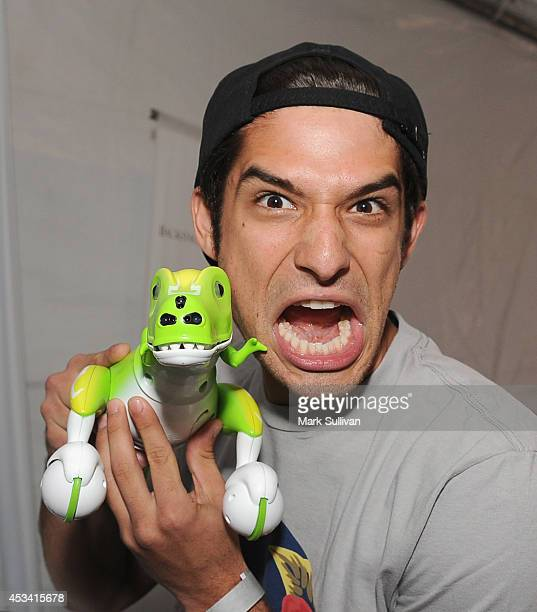 Actor Tyler Posey attends the Backstage Creations Celebrity Retreat at Teen Choice 2014 Day 1 on August 9 2014 in Los Angeles California