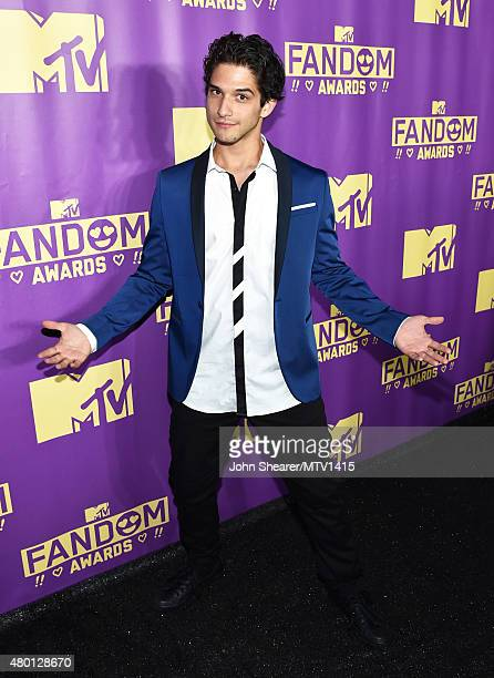 Actor Tyler Posey attends the MTV Fandom Awards San Diego at PETCO Park on July 9 2015 in San Diego California