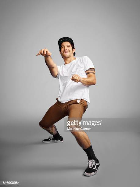 Actor Tyler Posey from 'Teen Wolf' is photographed for Entertainment Weekly Magazine on July 21 2016 at Comic Con in the Hard Rock Hotel in San Diego...