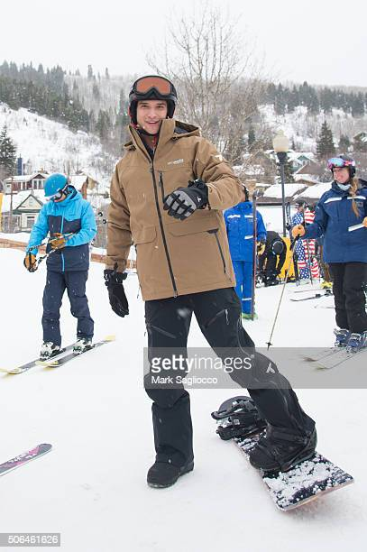 Actor Tyler Posey is seen around town during the Sundance Film Festival on January 23 2016 in Park City Utah
