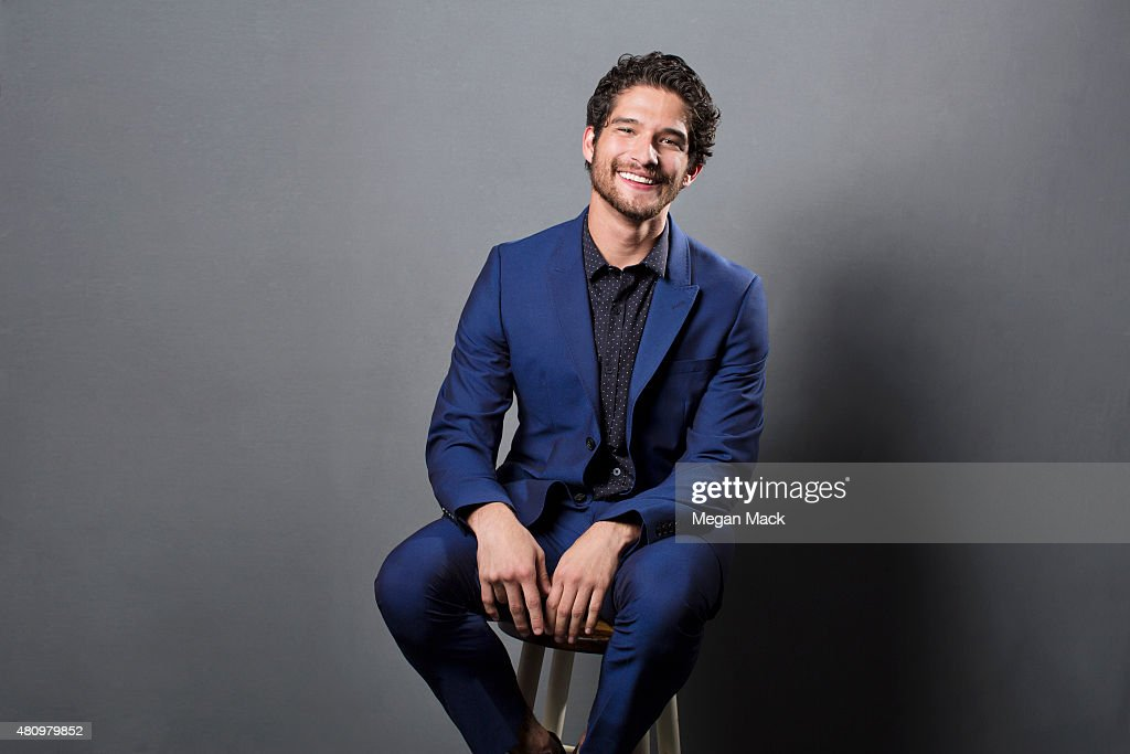 Actor Tyler Posey poses for a portrait at the Logo TV's 'Trailblazers' at the Cathedral of St John the Divine on June 25 2015 in New York City