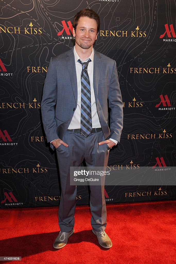 Actor Tyler Ritter arrives at the premiere of 'French Kiss' at the Marina del Rey Marriott on May 19, 2015 in Marina del Rey, California.