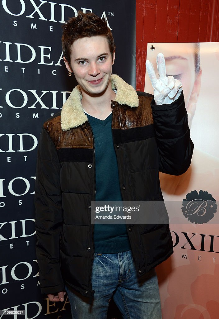 Actor Tyler Ross attends Day 3 of the Kari Feinstein Style Lounge on January 20, 2013 in Park City, Utah.