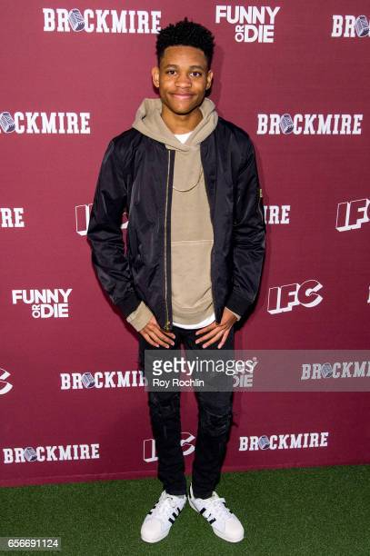 Actor Tyrel Jackson Williams attends the 'Brockmire' red carpet event at 40 / 40 Club on March 22 2017 in New York City