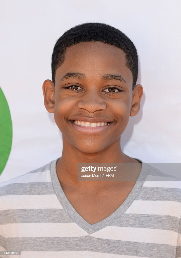 Actor Tyrel Jasckson Williams attends the 2nd Annual GameOn! fundraiser hosted by Common Sense Media at Sony Pictures Studios on September 29, 2013 in Culver City, California.