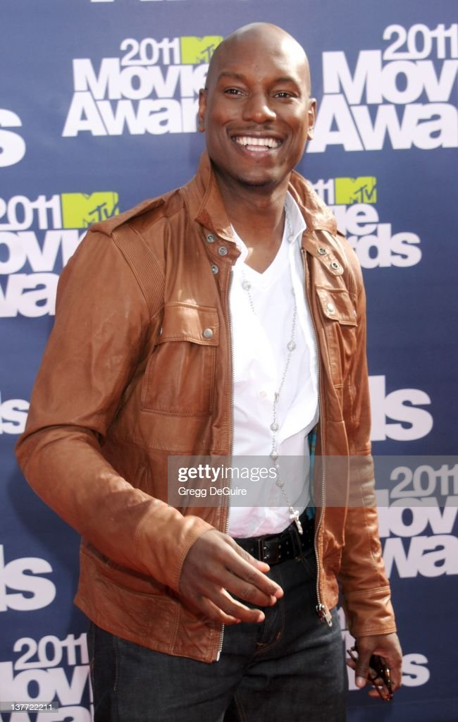 Actor Tyrese Gibson arrives at the 2011 MTV Movie Awards at the Gibson Amphitheatre on June 5, 2011 in Universal City, California.