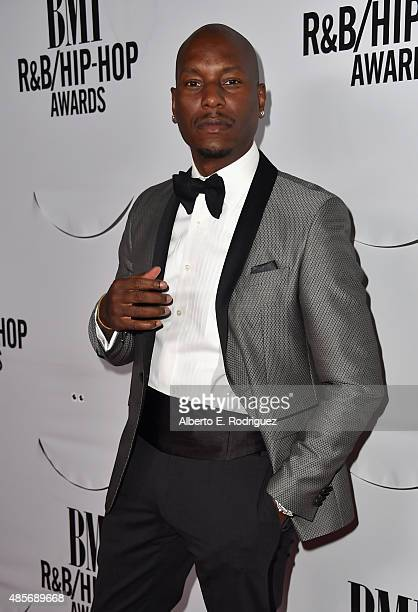 Actor Tyrese Gibson attends the 2015 BMI RB/Hip Hop Awards at Saban Theatre on August 28 2015 in Beverly Hills California