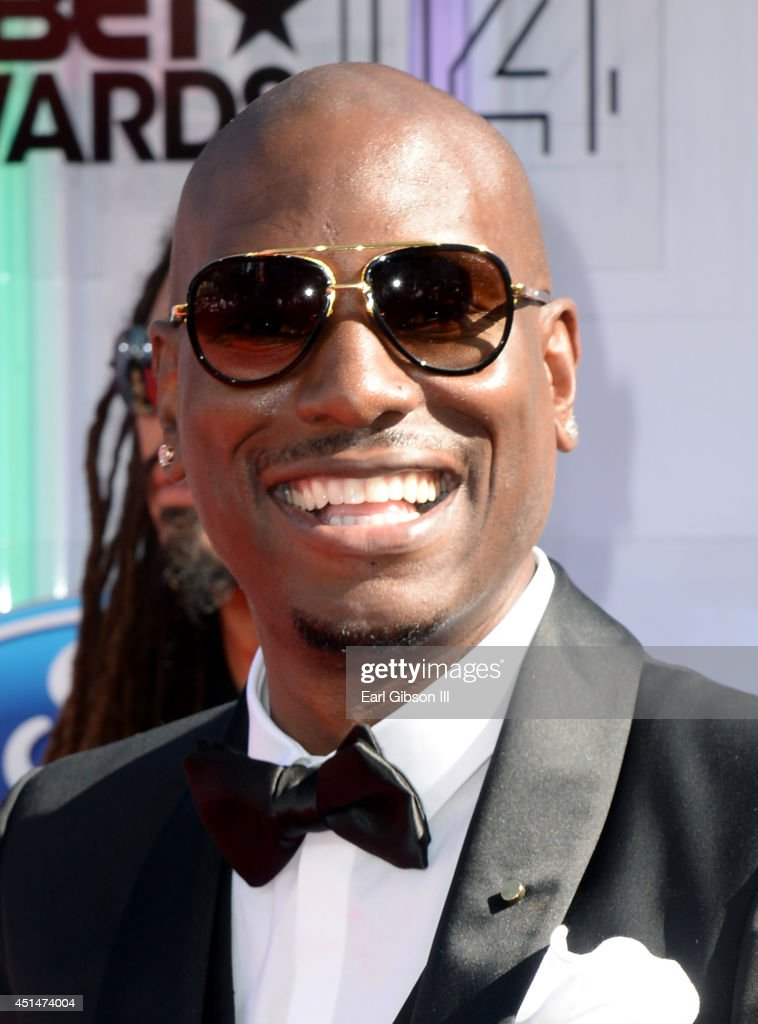 Actor <a gi-track='captionPersonalityLinkClicked' href=/galleries/search?phrase=Tyrese&family=editorial&specificpeople=206177 ng-click='$event.stopPropagation()'>Tyrese</a> Gibson attends the BET AWARDS '14 at Nokia Theatre L.A. LIVE on June 29, 2014 in Los Angeles, California.