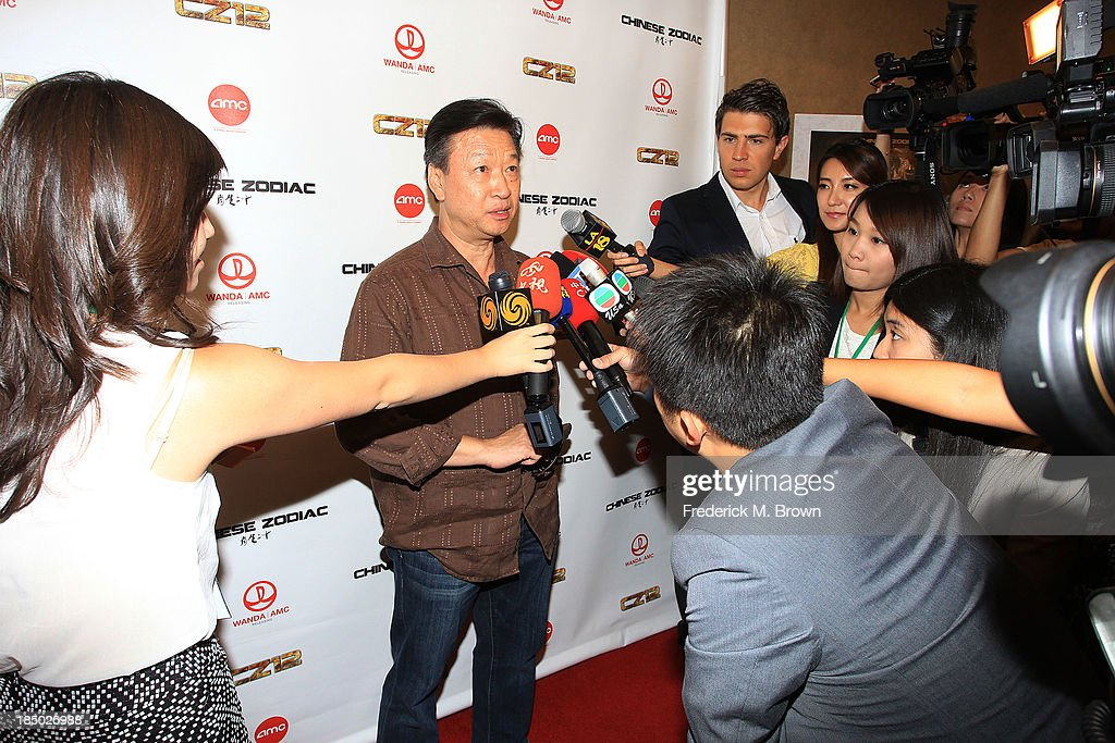 Actor Tzi Ma attends the premiere of Wanda and AMC releasing's 'Chinese Zodiac' at the AMC Century City 15 theater on October 16, 2013 in Century City, California.