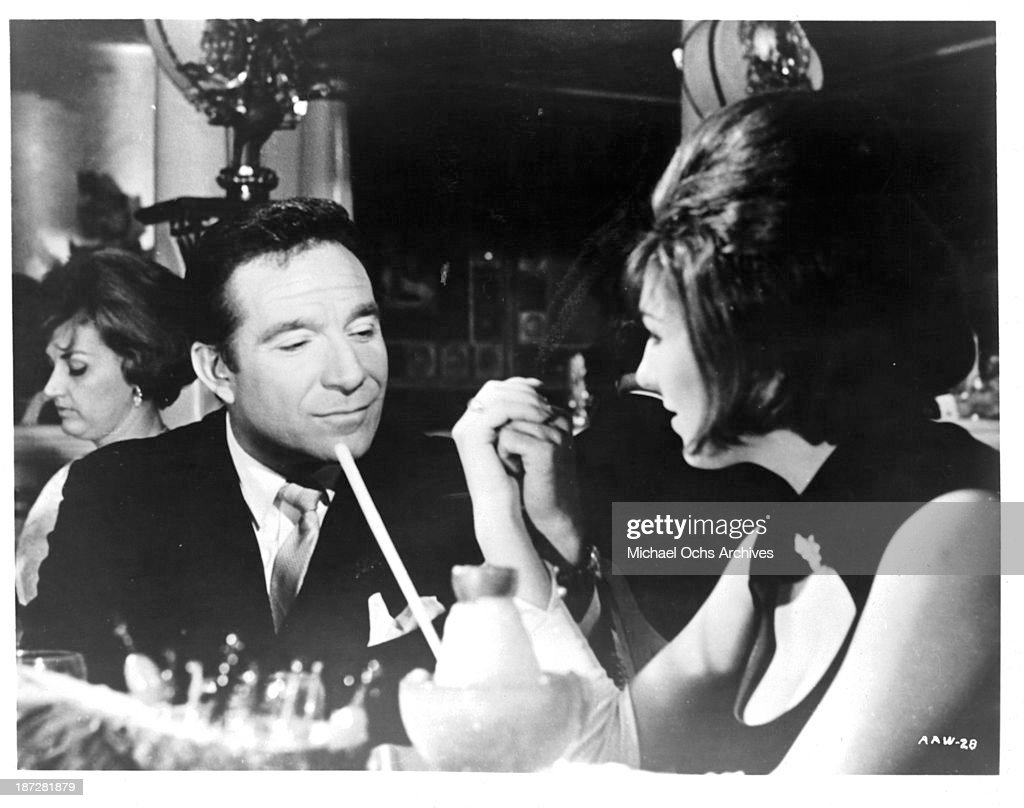 Actor Ugo Tognazzi on set of the movie 'Run for Your Wife' in 1965