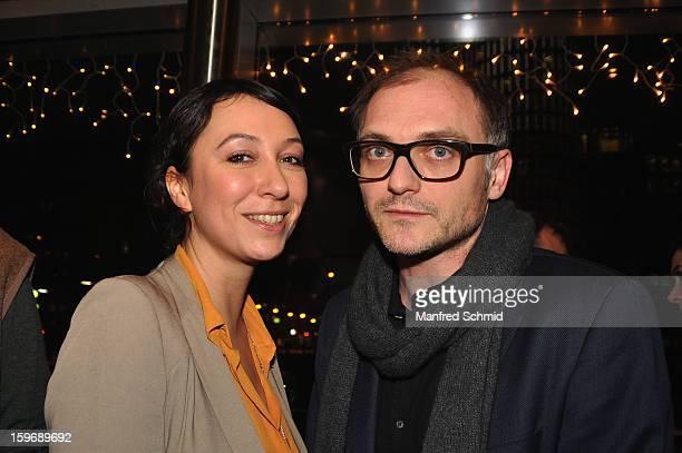 Actor Ursula Strauss and director Markus Schleinzer attand 'Der Fall Wilhelm Reich' Austria Premiere at Urania Cinema on January 15 2013 in Vienna...