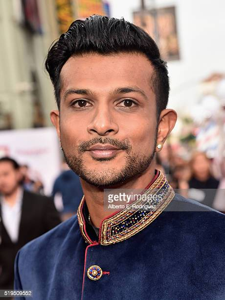 Actor Utkarsh Ambudkar attends the premiere of New Line Cinema's 'Barbershop The Next Cut' at the TCL Chinese Theatre IMAX on April 6 2016 in...