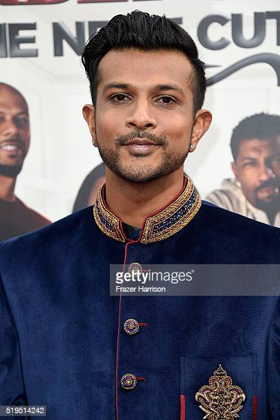 Actor Utkarsh Ambudkar attends the Premiere Of New Line Cinema's 'Barbershop The Next Cut' at TCL Chinese Theatre on April 6 2016 in Hollywood...