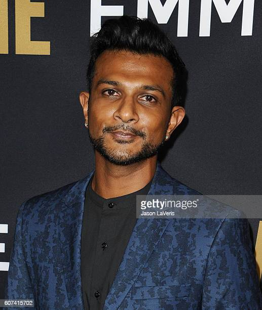 Actor Utkarsh Ambudkar attends the Showtime Emmy eve party at Sunset Tower on September 17 2016 in West Hollywood California
