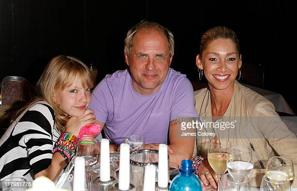 Actor Uwe Ochsenknecht guest and daughter Cheyenne Ochsenknecht attend the 'BMW Sailing Cup' at Lake Wannsee on July 2 2011 in Berlin Germany