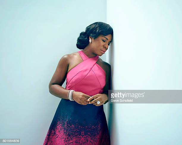 Actor Uzo Aduba is photographed for Emmy magazine on September 20 2015 in Los Angeles California
