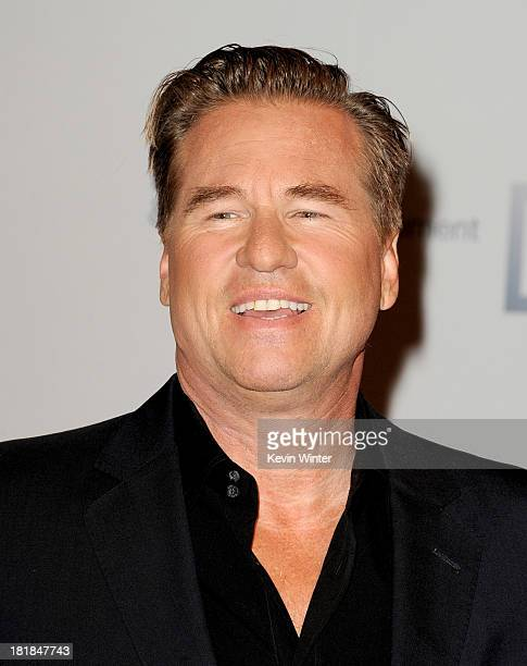 Actor Val Kilmer arrives at the 23rd Annual Simply Shakespeare Benefit reading of 'The Two Gentleman of Verona' at The Broad Stage on September 25...