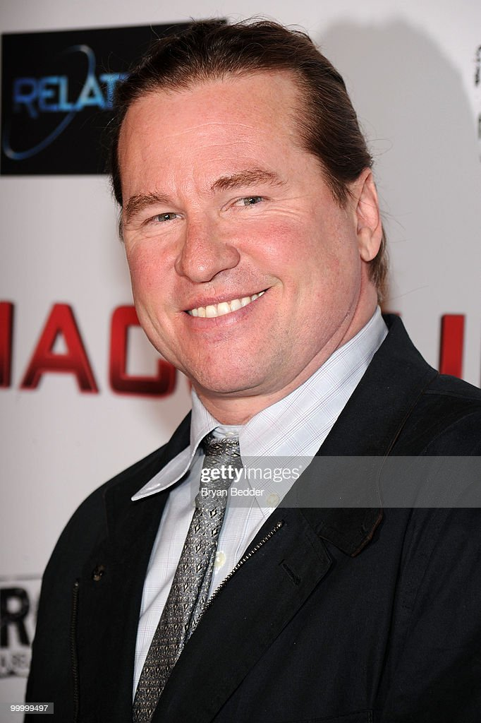 Actor Val Kilmer attends the premiere of 'MacGruber' at Landmark's Sunshine Cinema on May 19, 2010 in New York City.