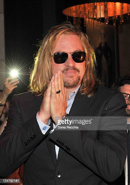 Actor Val Kilmer attends the 'Twixt' After Party at Thompson Hotel during the 2011 Toronto International Film Festival on September 12 2011 in...