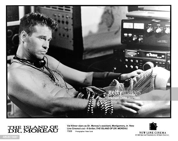 Actor Val Kilmer in a scene from the New Line Cinema movie 'The Island of Dr Moreau' circa 1996