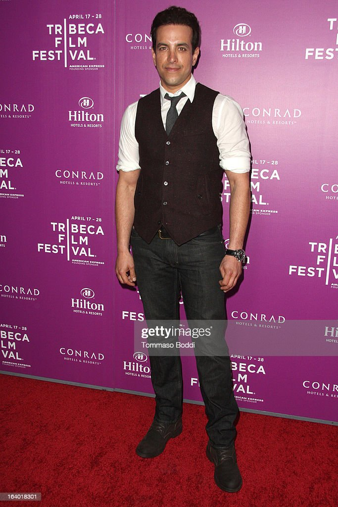 Actor Val Lauren attends the 5th annual Tribeca Film Festival 2013 LA reception held at The Beverly Hilton Hotel on March 18, 2013 in Beverly Hills, California.