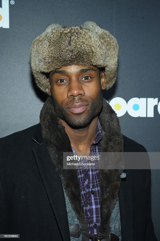 Actor Valence Thomas attends The New Billboard Launch Event at Stage 48 on February 21, 2013 in New York City.