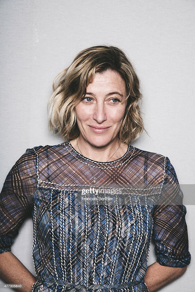 Actor Valeria Bruni Tedeschi is photographed on May 17, 2015 in Cannes, France.