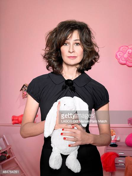 Actor Valerie Lemercier is photographed for Paris Match on November 25 2013 in Paris France