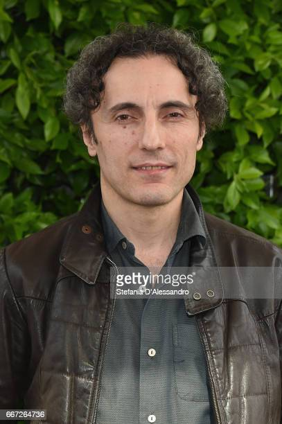 Actor Valerio Aprea attends a photocall for 'Moglie E Marito' on April 11 2017 in Milan Italy