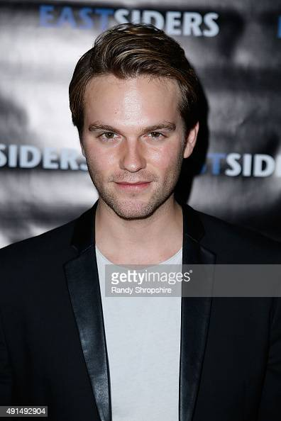 Actor Van Hansis arrives at the premiere of Go Team Entertainment's 'EastSiders' season 2 at The Downtown Independent on October 5 2015 in Los...