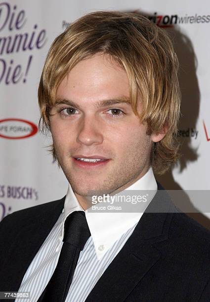 Actor Van Hansis at the Opening Night celebration for 'Die Mommie Die' at New World Stages on October 21 2007 in New York City