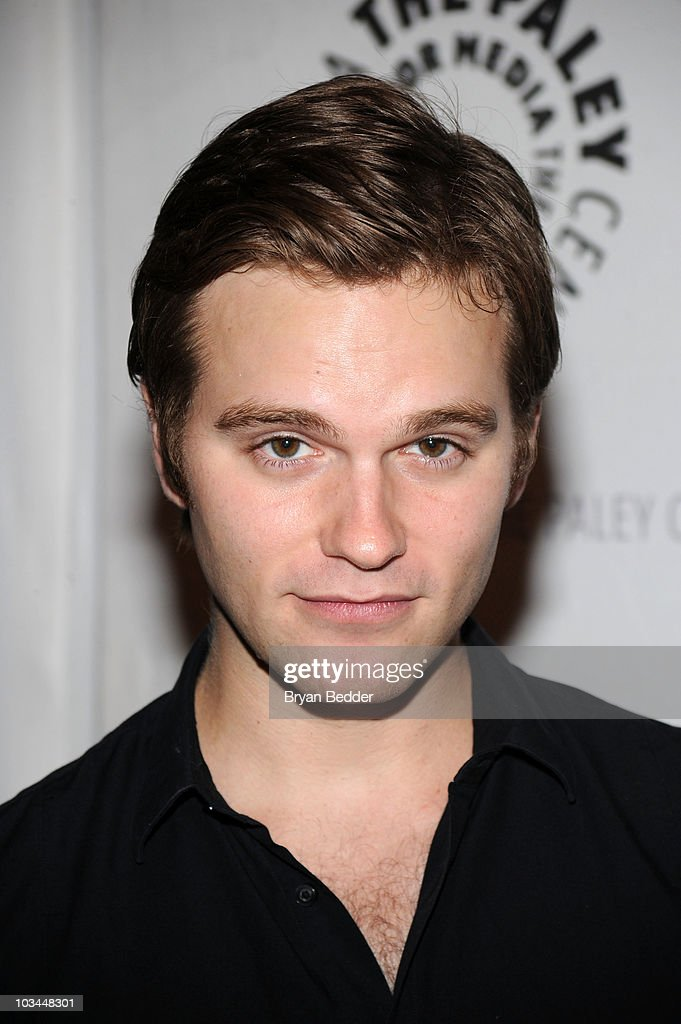 Actor Van Hansis attends a farewell to cast of 'As The World Turns' at The Paley Center for Media on August 18, 2010 in New York City.