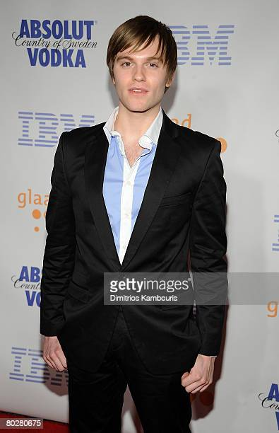 Actor Van Hansis attends the 19th Annual GLAAD Media Awards at the Marriott Marquis on March 17 2008 in New York City