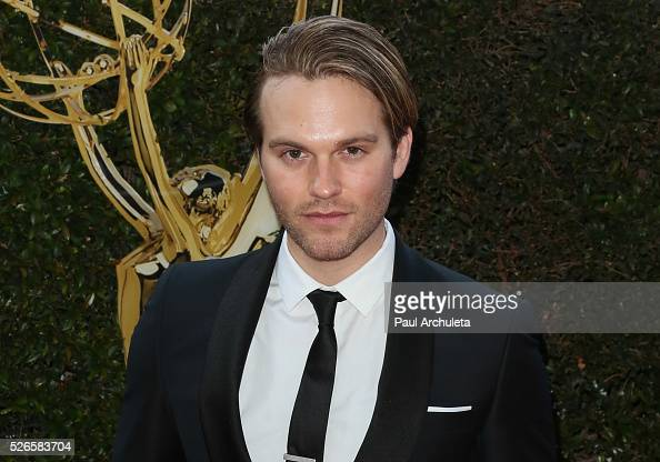 Actor Van Hansis attends the 2016 Daytime Creative Arts Emmy Awards at The Westin Bonaventure Hotel on April 29 2016 in Los Angeles California