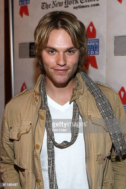 Actor Van Hansis attends the 23rd Annual Broadway Flea Market Grand Auction at Roseland Ballroom on September 27 2009 in New York City