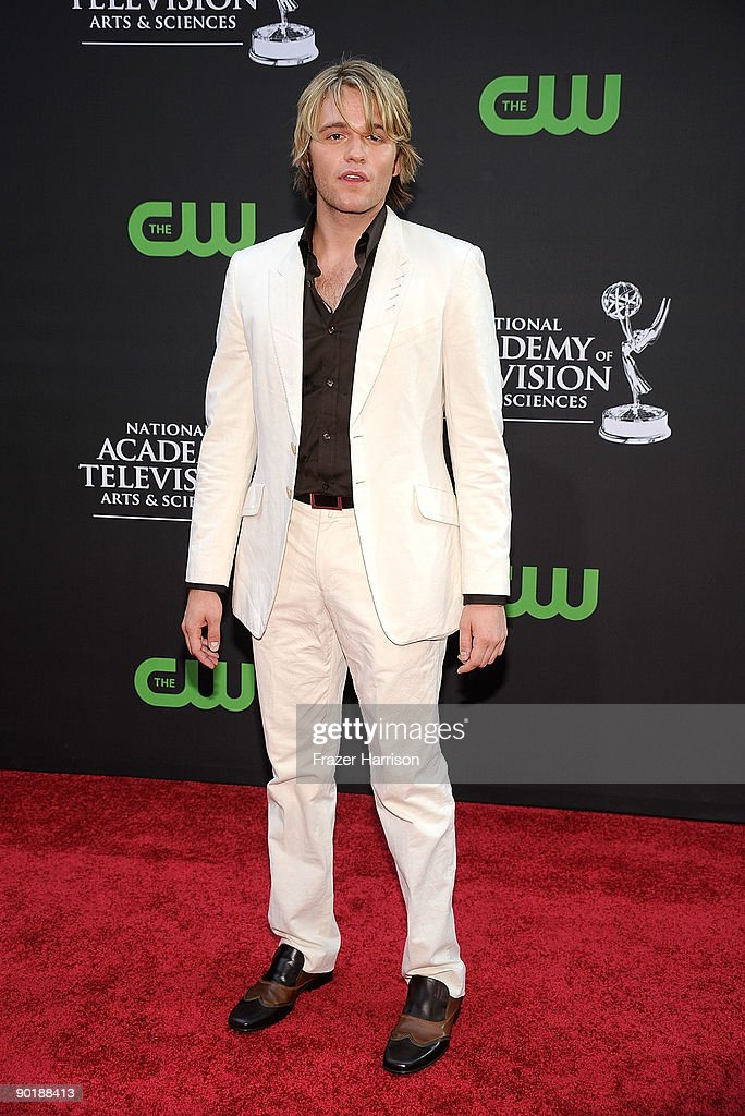Actor Van Hansis attends the 36th Annual Daytime Emmy Awards at The Orpheum Theatre on August 30, 2009 in Los Angeles, California.