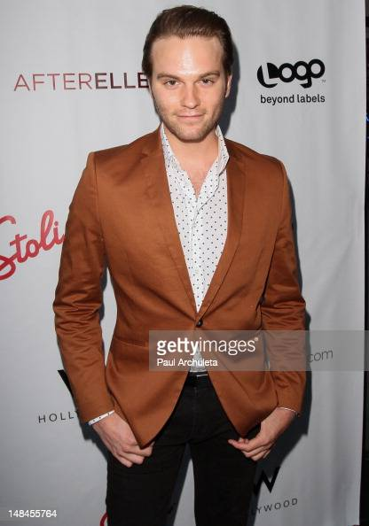 Actor Van Hansis attends the Logo's AfterEllen AfterElton inaugural 'Hot 100 Party' at Station Hollywood at W Hollywood Hotel on July 16 2012 in...